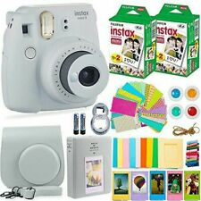 Fujifilm Instax Mini 9 Camera with Film (40 Sheets) and Other Accessories