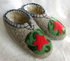 Valenki 100% Wool Russian Slippers Healthy Felt Shoes Footwear UK 9.5-10 (EU 44)
