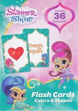 Cards Learning SHIMMER & SHINE Colors & Shapes Game Educational Deck NEW