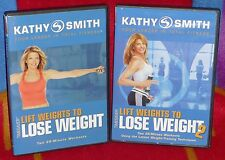 DVD : 2 Kathy Smith Lift Weights To Lose Weight & Lift Weights to Lose Weight 2!