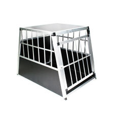 Aluminium  Alu Hundetransportbox Hundebox Reisebox Autotransportbox Gitterbox LX