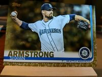 2019 Topps Series 2 517 Shawn Armstrong GOLD 1078/2019 Parallel Seattle Mariners