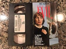 See No Evil VHS! 1971 Suspense! Wait Until Dark Blink Blind The Eye Jennifer 8