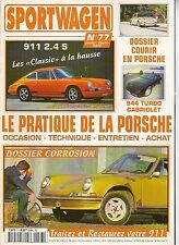 SPORTWAGEN 77 PORSCHE 911 2.4 S 944 TURBO CABRIOLET PORSCHE 914 2.0 PILOTAGE