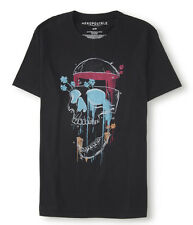 Aeropostale Men's Shirt Screaming Skull Graphic Tee Aero Small