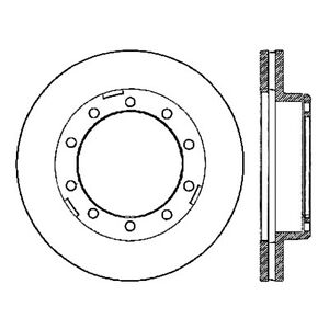Brake Rotor Centric Parts 120.80014
