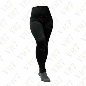 New Ladies High Waist Tummy Control Thin soft Leggings Plus Size