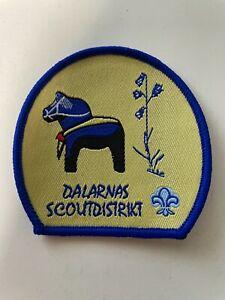 Boy Scout - Sweden SSF Dalarnas Scout district badge