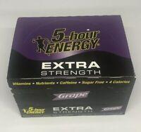 5 Hour Energy Shot Extra Strength Grape 12 ct 1.93 oz Sugar Free