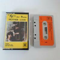 LOGGINS AND MESSINA MOTHER LODE CASSETTE TAPE 1974 ORANGE PAPER LABEL CBS UK