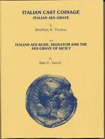 HN B.K. Thurlow - I. Vecchi ITALIAN CAST COINAGE - ITALIAN AES GRAVE