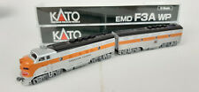 KATO WESTERN PACIFIC F3A+B BOTH POWERED TOP RUNNERS EXCELLENT COND N GAUGE(SJ)