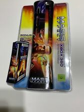 Xbox 360 Mass Effect Faceplate & Console Skins Factory Sealed. E
