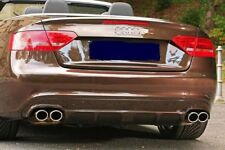 2008-2012 AUDI S5 A5 S-LINE JMS REAR DIFFUSER TO FIT QUAD EXHAUST 2009-2010-2011