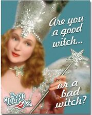 Wizard of OZ Metal Tin Sign Are you a good witch or bad witch? Home Wall Decor