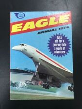 The Eagle ANNUAL EARLY 1974 Concorde  Hero Daring Dan Dare