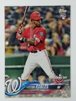 2018 18 Topps Opening Day Victor Robles Rookie RC #127, Washington Nationals