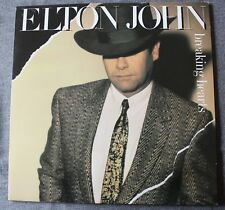 Elton John, breaking hearts, LP - 33 tours  France