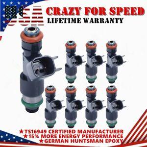 8PCS Fuel Injectors For 07-09 For Chevrolet GMC 5.3L V8 12594512 217-2436