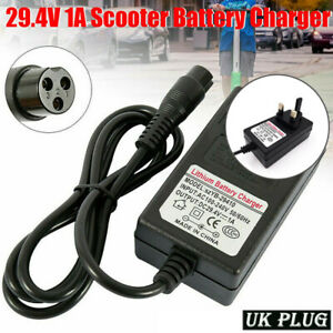 24V Battery Charger for Razor E100 E125 E150 Electric Scooter 12mm Connector