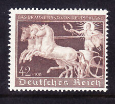 GERMANY 1940 Brown Ribbon Race SG735 42pf + 108pf brown unmounted mint. Cat £140