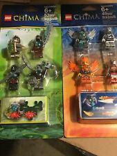 Lego Chima 850910 850913 Fire & Ice Legends of Chima - Minifig Accessory Sets