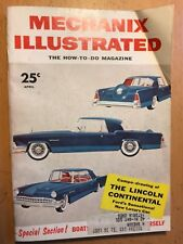 Mechanix Illustrated - Apr. 1955 Lincoln Continental - Go Fly A Kite & MORE