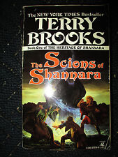 The Scions of Shannara by Terry Brooks - 1990 1st Edt PB Heritage Book 1