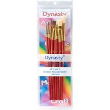 Dynasty Craft & Hobby Brush Sets-hobby Assortment 7/pkg