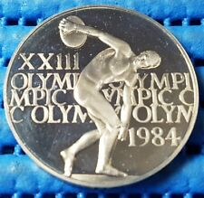 1984 United States Los Angeles XXIII Olympics Commemorative Medallion