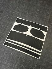 HPI Baja 5B 5SS Carbon Spoiler Vinyl Graphic Kit for Rear Wing Rovan