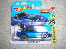 Hot Wheels Blue Card Nissan Diecast Racing Cars