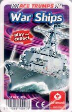 Ace TRUMPS - War Ships. Cartamundi. HUGE Saving