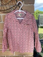 Size 6 girls Cotton on Kids Pink  polkadots roll up sleeves Shirt Top