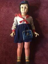 "Vintage 1960s Patti Playpal Type Doll American Airlines Stewardess 35"" Walking"