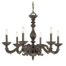 Crystorama Paris Market 6 Light Bronze Chandelier - 5126-VB