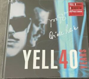 Yello - Yello 40 Years  4 �� CD, Limited Edition, Numbered, Signiert Signed