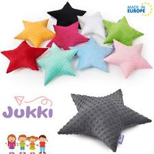Plush MINKY Pillow Fluffy Stuffed STAR Cushion Soft Toy Gift Baby Kids Room Deco