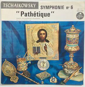 "HOLLREISER / TCHAIKOWSKY Symphonie Nr. 6 ""Pathetique"" SUPER MAJESTIC EX/VG++"