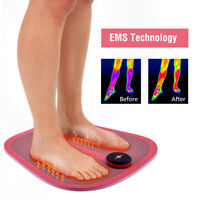 Electric EMS Foot Massager ABS Physiotherapy Revitalizing Pedicure Tens Vibrator