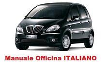 LANCIA MUSA (2004/2012)  Manuale Officina Riparazioni ITALIANO