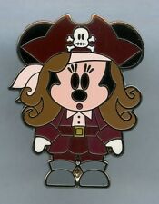 MINNIE MOUSE Elizabeth Swann Pirates of Caribbean Cute Disney Pin AUTHENTIC WDW