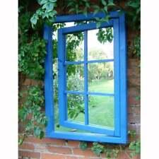Garden Window Mirror Large Vintage Wall Mirror 97 cm Outdoor Patio Decoration
