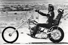 Peter Fonda As Wyatt Easy Rider 11x17 Mini Poster Full Length Scene Riding Bike