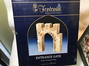 """Fontanini 5""""  Scale Entrance Gate - 55663- NIB"""