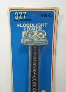 Marx Train 416C Floodlight Tower New, in Shrink Wrapped Package.