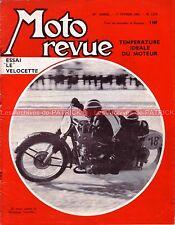 MOTO REVUE 1579 VELOCETTE LE 200 ; Température Moteur ; Speedway BMW 1962