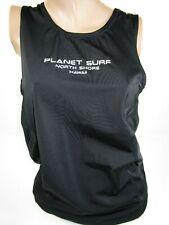 Black Planet Surf Skins Black Tank Top Muscle Shirt North Shore Hawaii Mens Xl