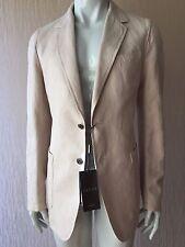 New $1845 Gucci Mens Coat Jacket, Blazer Cream 50 US ( 40 Eu) Italy