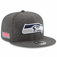 Seattle Seahawks New Era 9Fifty Crafted In America Field Snapback Hat Cap NFL